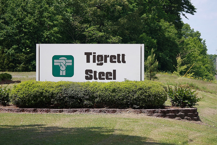 TigrettSteelSign